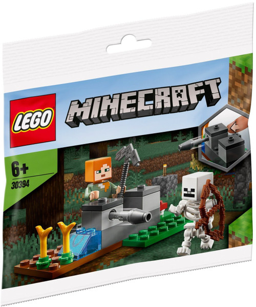 30394 LEGO® Minecraft™ The Skeleton Defense polybag