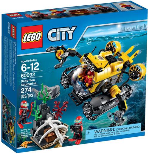 60092 LEGO® City Deep Sea Submarine