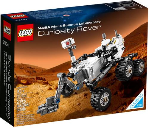 21104 LEGO® NASA Mars Science Laboratory Curiosity Rover