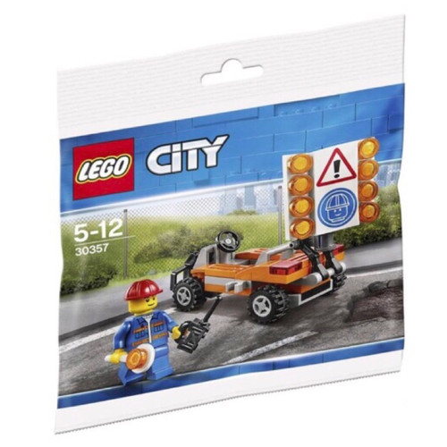 30357 LEGO® City Road Worker polybag
