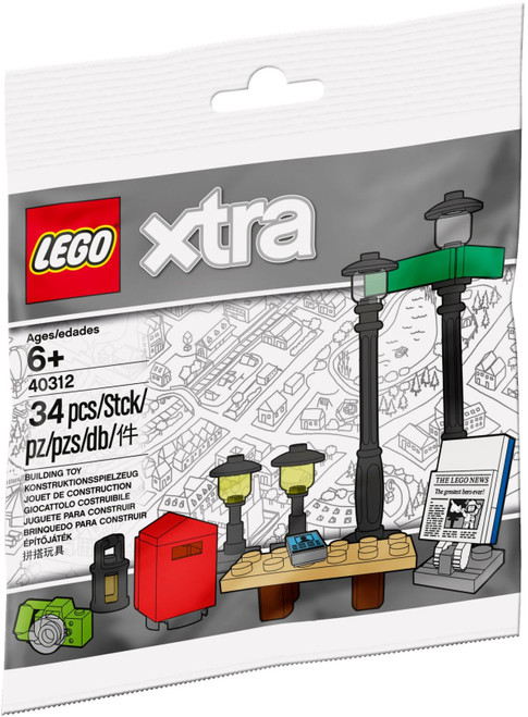 40312 LEGO®  Xtra Streetlamps Accessories