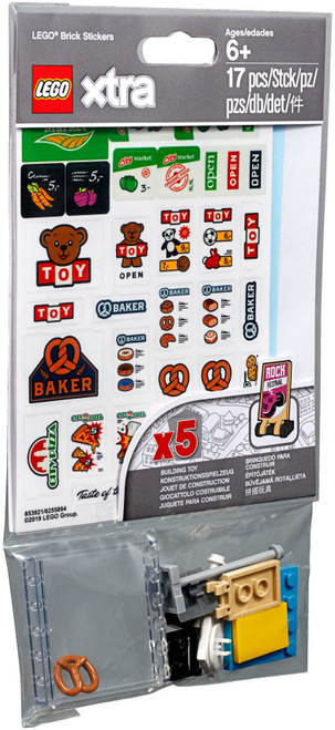 853921 LEGO® Xtra Brick Stickers