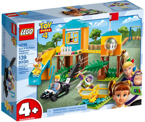 10768 LEGO® Juniors Toy Story 4 Buzz and Bo Peep's Playground Adventure
