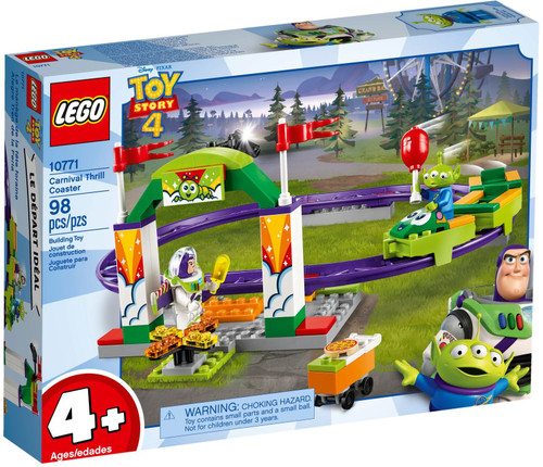10771 LEGO® Juniors Toy Story 4 Carnival Thrill Coaster