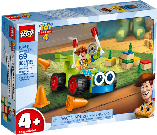 10766 LEGO® Juniors Toy Story 4 Woody & RC