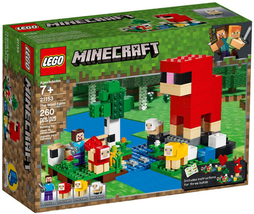 21153 LEGO® Minecraft The The Wool Farm