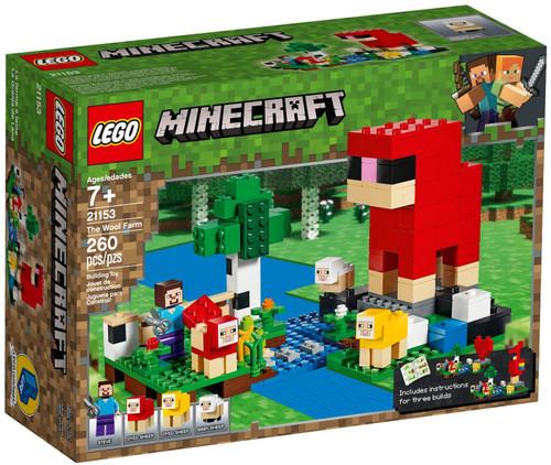 21153 LEGO® Minecraft The The Wool Farm