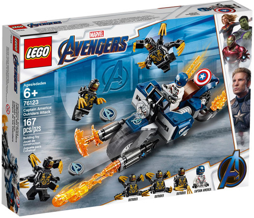 76123 LEGO® Marvel™ Super Heroes Captain America: Outriders Attack