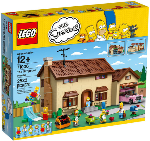 71006 LEGO® The Simpsons House