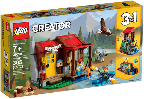 31098 LEGO® Creator Outback Cabin