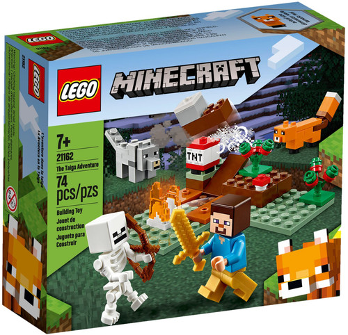 21162 LEGO® Minecraft™ The Taiga Adventure