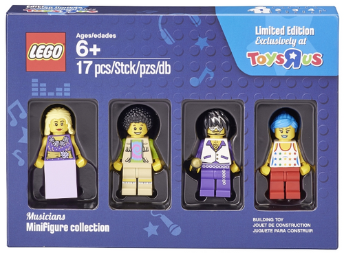 5004421 LEGO® Musicians minifigure collection