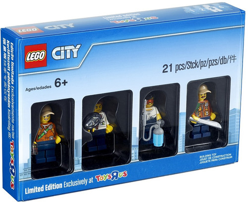 5004940 LEGO® City Jungle Minifigure Collection