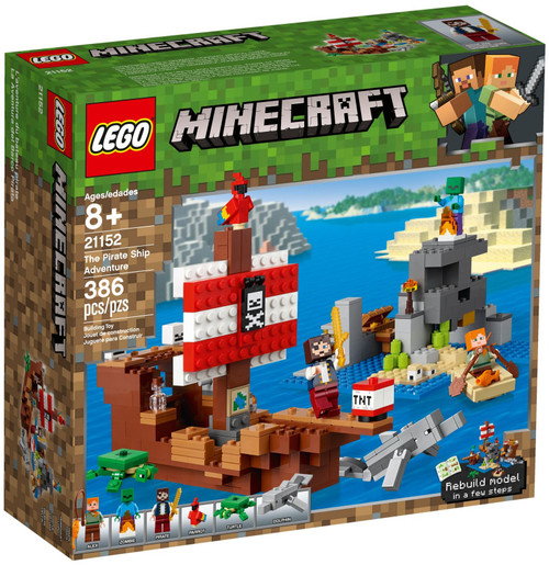 21152 LEGO® Minecraft Pirate Ship