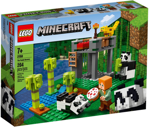 21158 LEGO® Minecraft The Panda Nursery