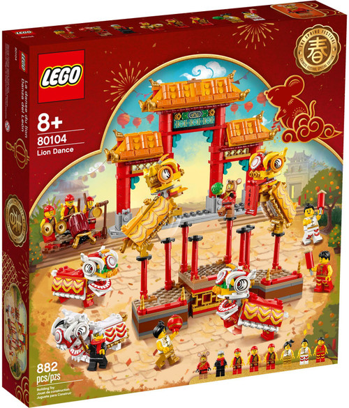 80104 LEGO® Chinese Lion Dance