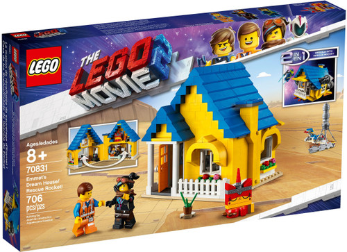 70831 LEGO® Lego Movie Emmet's Dream House/Rescue Rocket!