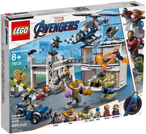 76131 LEGO® Marvel™ Avengers Compound Battle