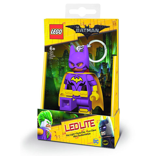 LGLKE104 LEGO® DC Super Heroes™ Batgirl Key Chain (LEDLITE) (The LEGO Batman Movie Version)
