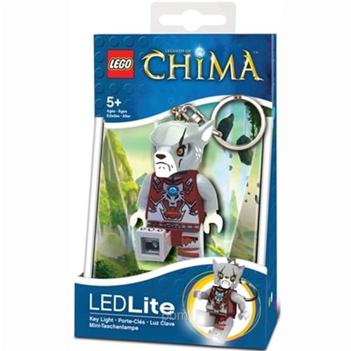 LGLKE37 LEGO® Chima™ Worriz Key Chain (LEDLite)