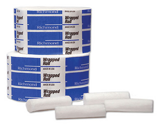 Cotton Rolls 1-1/2 Medium NS Wrapped 2000/Pk