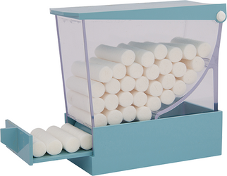 Cotton Roll Dispenser Deluxe