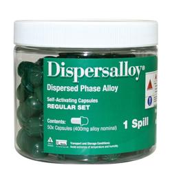Dispersalloy 1 Spill Regular 400mg 50/Jar