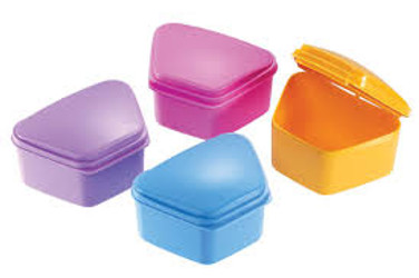 Denture Boxes 12/Pack - Assorted colors