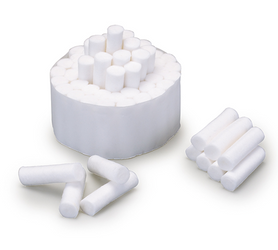 Cotton Dental Rolls Non-Sterile 2 1.5 x 3/8Ft 2000/Bx