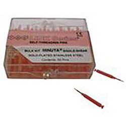 Self-Threading Pin System Link Refill (50), Minuta Single Pink