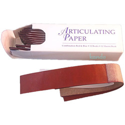 "Articulating Paper - Thin 0.0028"" (71 microns) Blue Articulating Paper, 144/Bx"