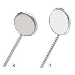 Mirror Head Simple Stem - 12/Box