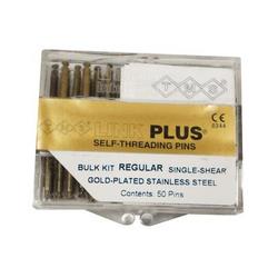 Self-Threading Pin System Link Plus Refill (50), Regular Single Gold