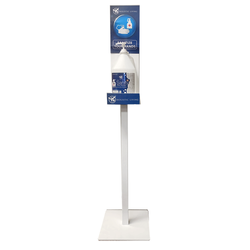 Sanitizer Floor Stand With 4L Gallon And Pump Kit