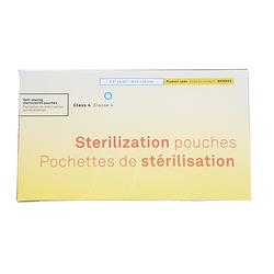 Self-Sealing Sterilization Pouches. Class 4 -  3.50 X 5.25