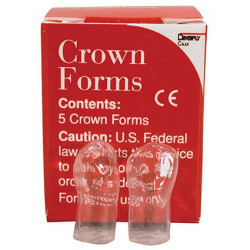 Crown Forms, Clear, Celluloid