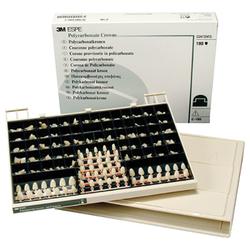 Polycarbonate Crowns - Adult Anterior Set, C180