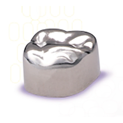 Unitek Stainless Steel Crowns Refills.  First Primary Molars. 5/Pk