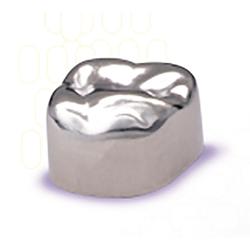 Unitek Stainless Steel Crowns Refills. Second Primary Molars. 5/Pk