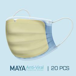 Maya Anti-Viral Protective Sticker 20/Box