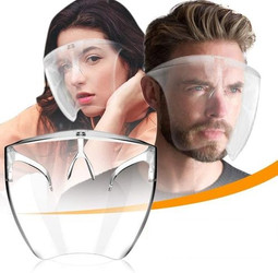 Revolutionary High Transparency Anti Fog Face Shield