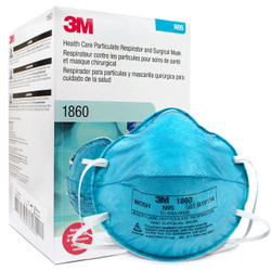 Genuine N95 #1860 3M Healthcare Surgical Respirator  **** 20/Box ****