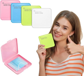 Antibacterial Mask Storage Case