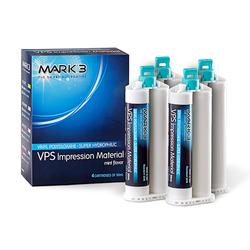 Mark3 VPS Impression Material Med. Body Fast Set 4/Pk - Exp. 05/2021