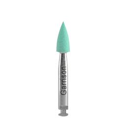 eZr Green Medium Grit Small Point Polisher, 5pcs