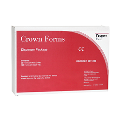 Crown Forms Clear Dispenser Package