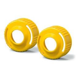 Aquasil Ultra DECA Bayonet Ring Yellow 2/pk