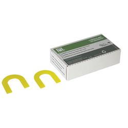 Hygenic Bite-Wafers Soft Yellow U-Shaped 50/Box