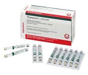 Septanest N 1:200,000 Epi 4% 50/Pk