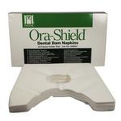 Ora-Shield Dam napkins Large Fits Holder - 50/Box